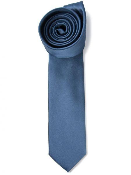 Jedwab krawat z łatami Dolce And Gabbana