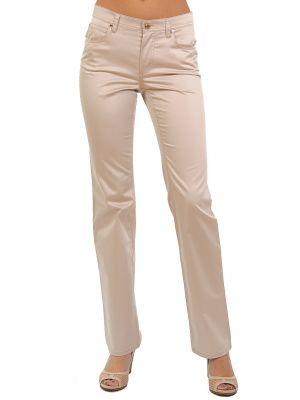 Хлопковые брюки - бежевые Cerruti 18crr81