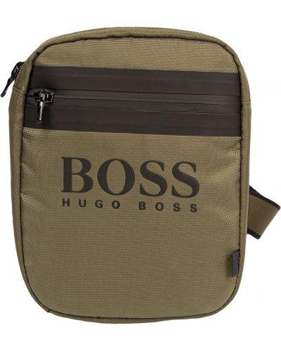 Зеленая сумка Hugo Boss