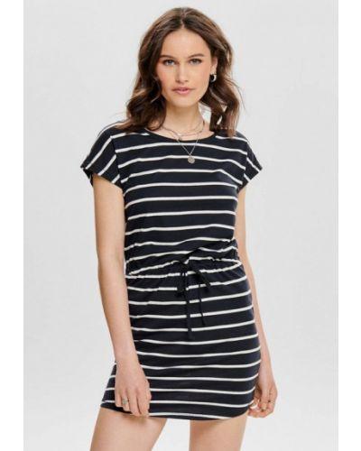Платье-футболка - черное Jack & Jones
