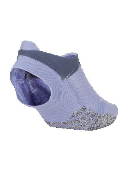 Fioletowe skarpety z nylonu Nike