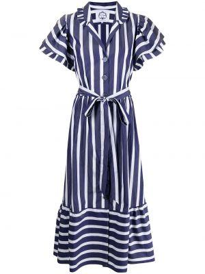 Niebieska sukienka bawełniana Evi Grintela