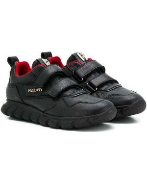 Черные кроссовки Cesare Paciotti Kids