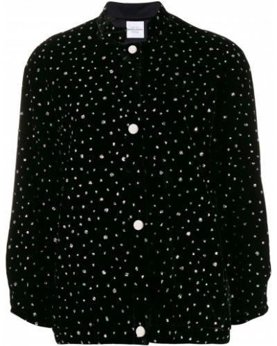 Черная длинная куртка Roseanna