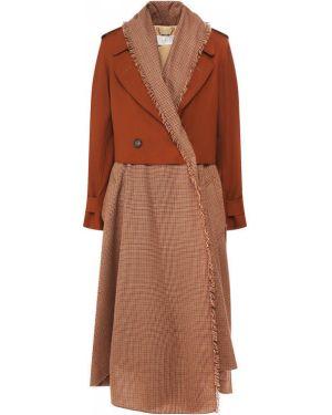 Пальто шерстяное пальто Chloé