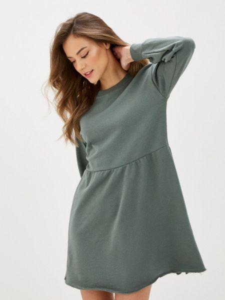 Платье платье-толстовка зеленый Tezenis