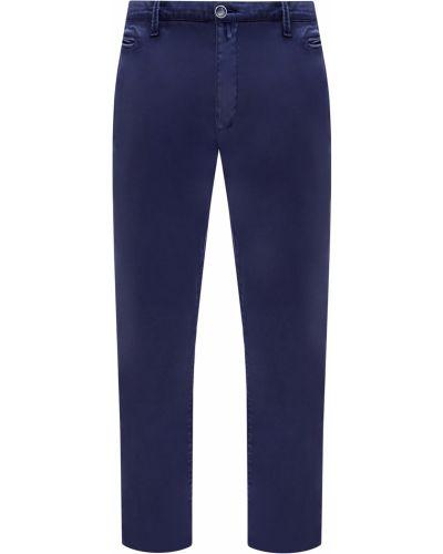 Синие деловые брюки чиносы с карманами с нашивками Jacob Cohen