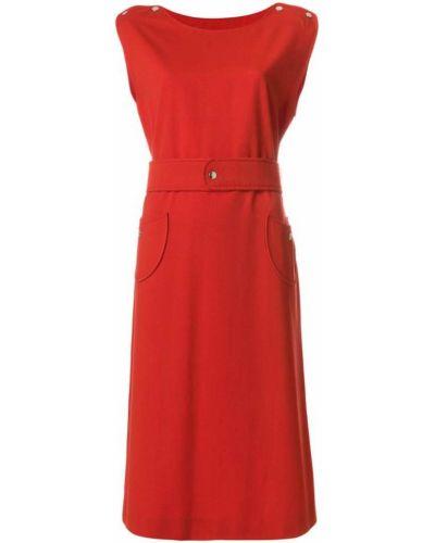 Платье миди винтажное с поясом Courrèges Pre-owned