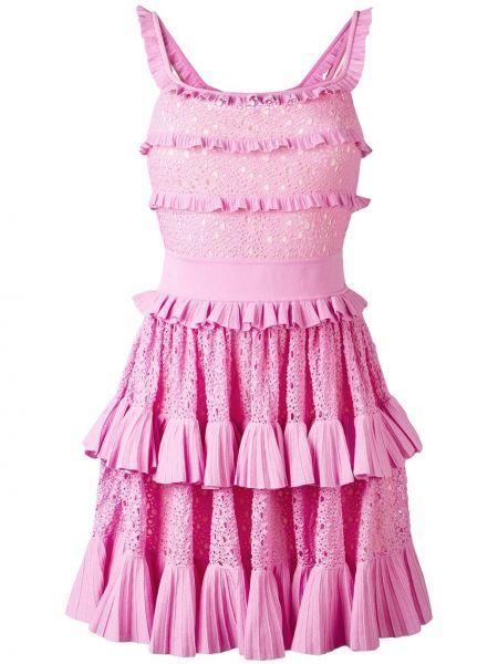 Хлопковое платье - розовое Antonino Valenti