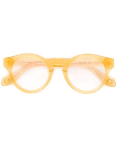 Оранжевые очки Monocle Eyewear