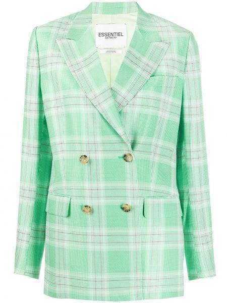 Пиджак двубортный с накладными карманами Essentiel Antwerp