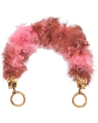 Розовый ремень Prada