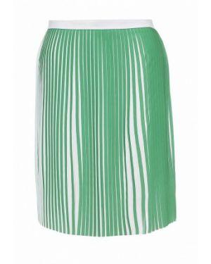 Плиссированная юбка зеленый Silvian Heach