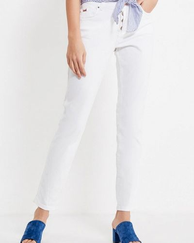 Белые джинсы-скинни H.i.s