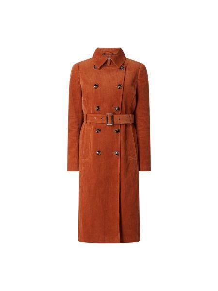 Bawełna brązowy z paskiem trencz z kołnierzem Jake*s Collection