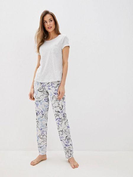 Пижама пижамный серая Marks & Spencer