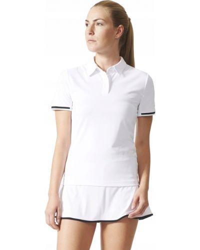 T-shirt materiałowa - biała Adidas