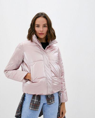 Теплая розовая куртка Zolla