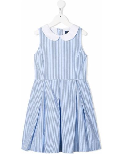 Платье с рукавами в полоску приталенное Ralph Lauren Kids