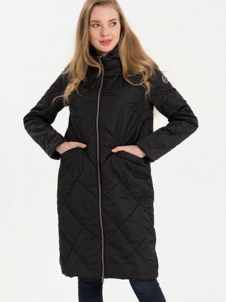 Утепленная куртка демисезонная черная Lab Fashion