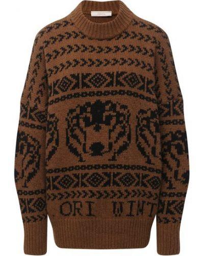 Кашемировый свитер - коричневый Tak.ori