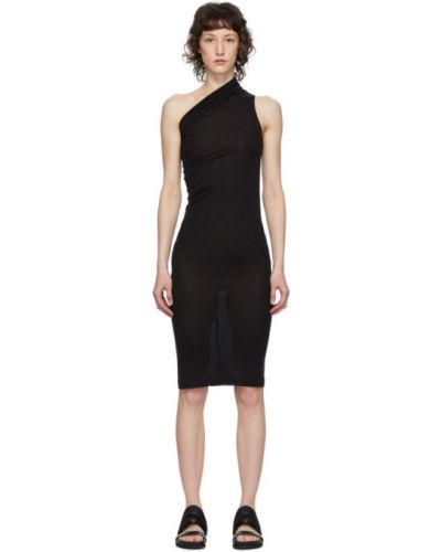 Платье на одно плечо через плечо Rick Owens Lilies