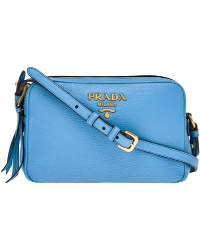 Кожаный сумка маленькая текстильная Prada