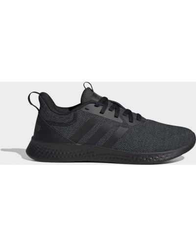 Домашние черные кроссовки Adidas