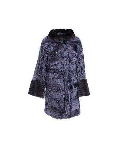 Прямое пальто зимнее с поясом American Legend
