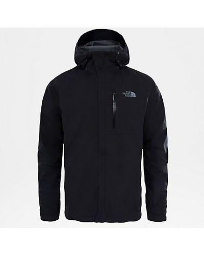 Куртка с капюшоном черная The North Face