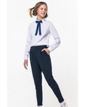 Школьные синие брюки на резинке Orby