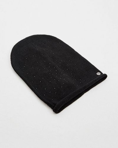 Черная шапка осенняя Liu Jo