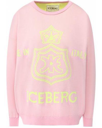 Свитер розовый Iceberg