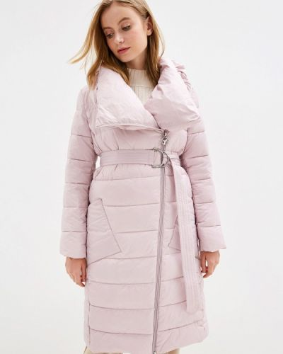 Розовая зимняя куртка Odri Mio