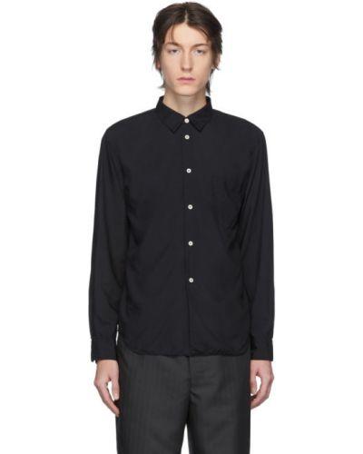 Czarna koszula z długimi rękawami Comme Des Garcons Homme Deux