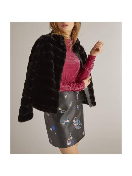 Укороченное пальто с воротником-стойкой с воротником Rene Derhy