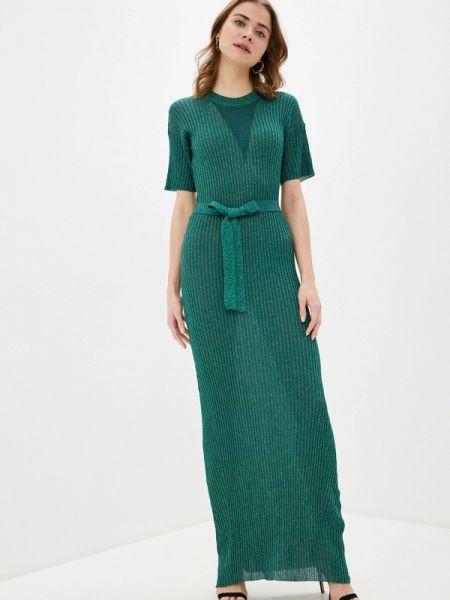 Платье прямое зеленый Silvian Heach