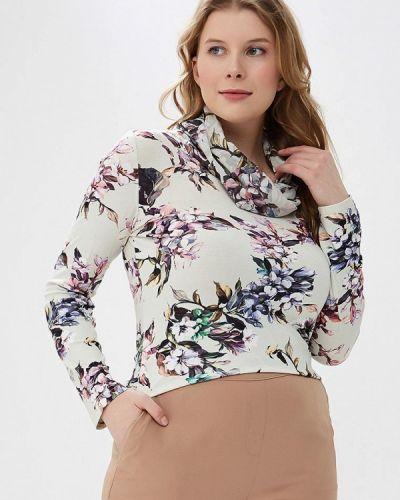 Блузка с длинным рукавом розовая бежевый Balsako
