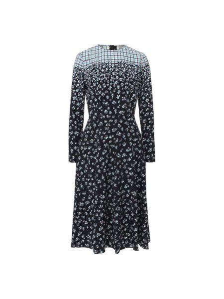 Шелковое платье Poustovit