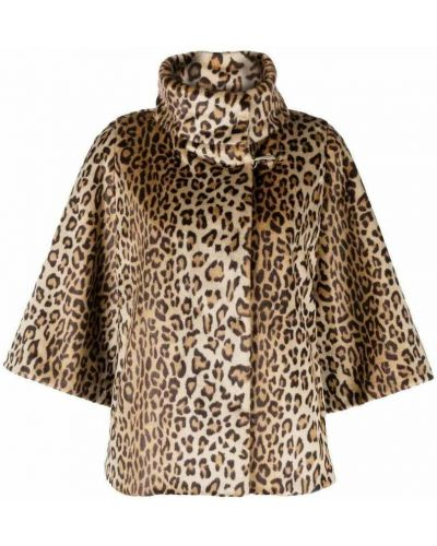 Brązowy płaszcz Fay