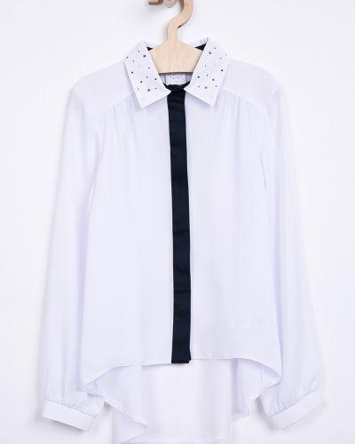 Блуза белая на пуговицах Sly