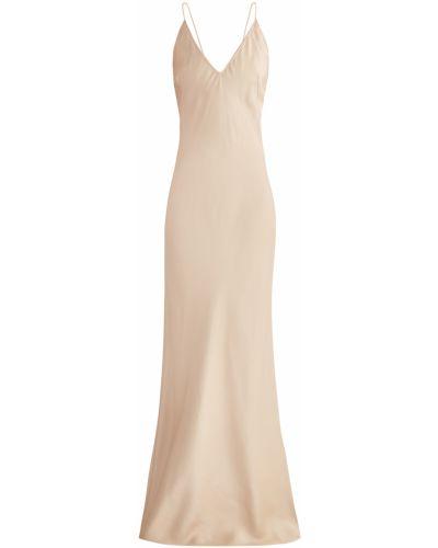 Вечернее платье макси из вискозы Alexander Terekhov