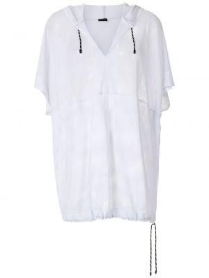 Tunika z kapturem - biała Osklen
