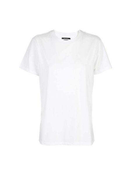 Biała t-shirt Isabel Marant