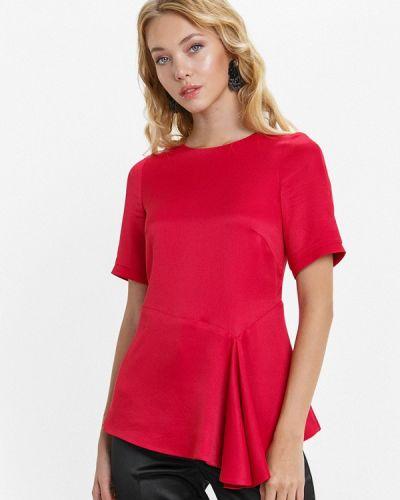 Блузка с коротким рукавом красная Audrey Right