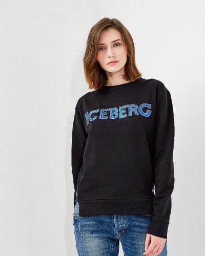 Черный свитшот Iceberg