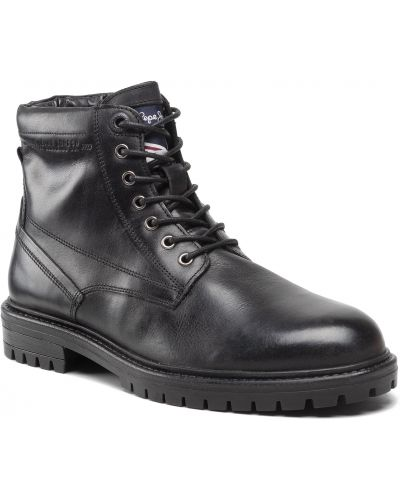 Trapery - czarne Pepe Jeans
