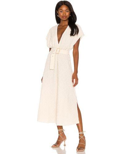 Шелковое платье - бежевое Lpa