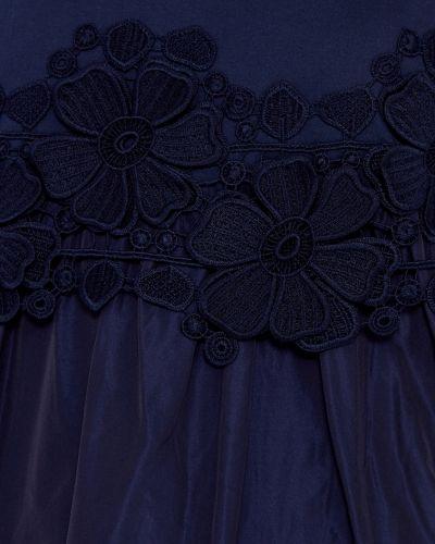 Платье футболка с цветочным принтом Moncler
