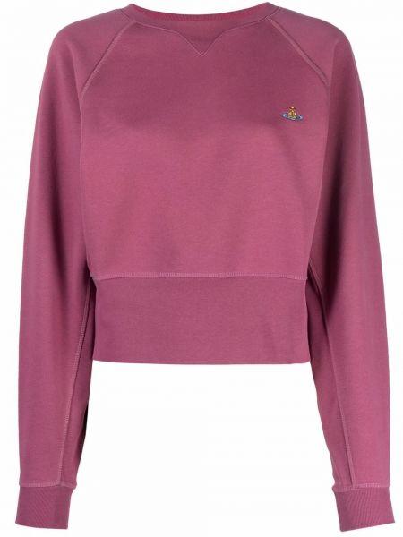Флисовая толстовка - розовая Vivienne Westwood